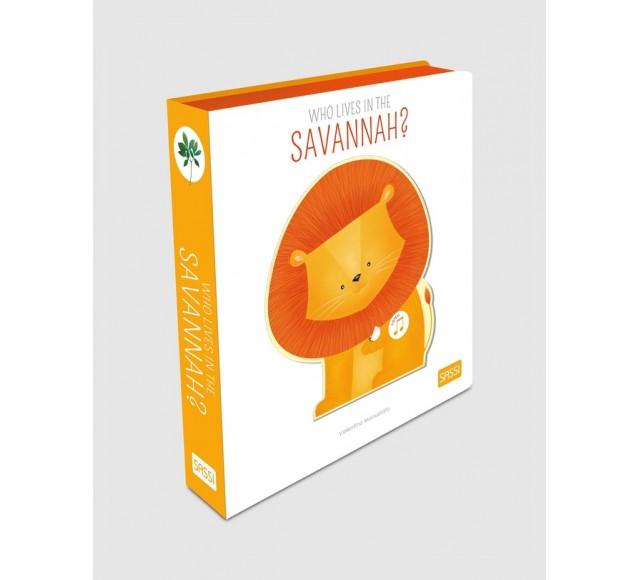 Who Lives in the Savannah Sound Book
