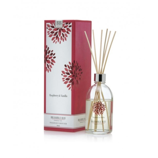 Raspberry and Vanilla Reed 170ml Diffuser - Bramble Bay