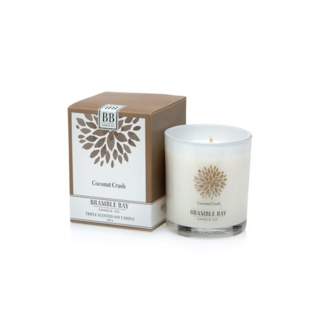 Coconut Crush Soy Candle 270g - Bramble Bay