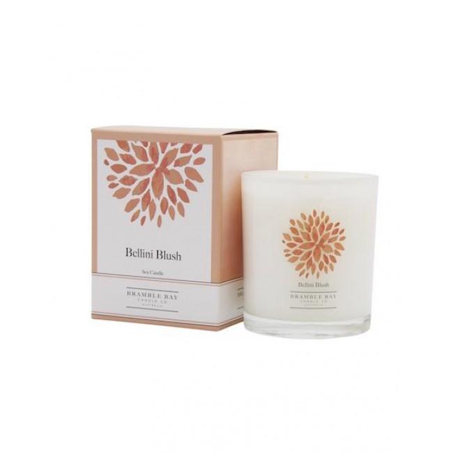 Bellini Blush 270g Soy Wax Candle - Bramble Bay