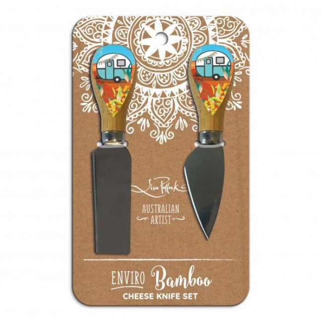 Bamboo Cheese Knives - Aussie Camper