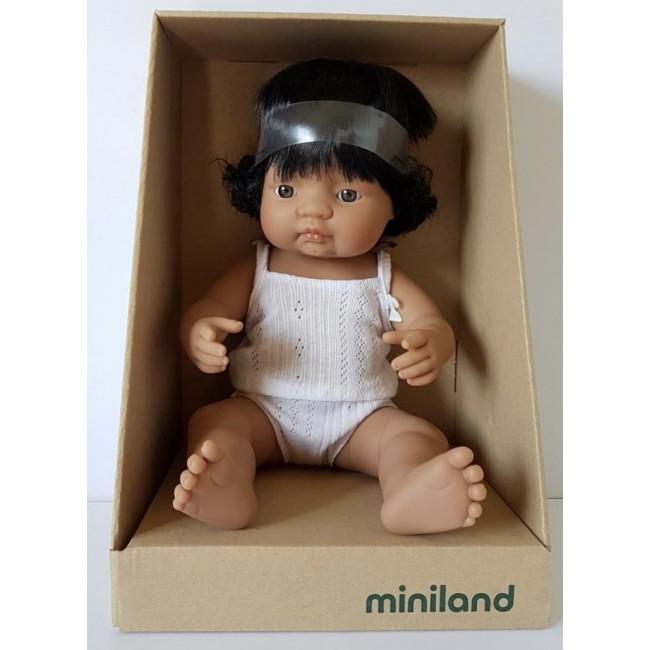 Miniland Doll - Hispanic Girl - 38CM