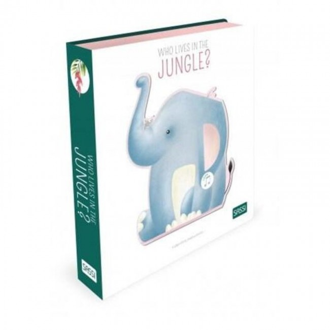 Who Lives in the Jungle Sound Book