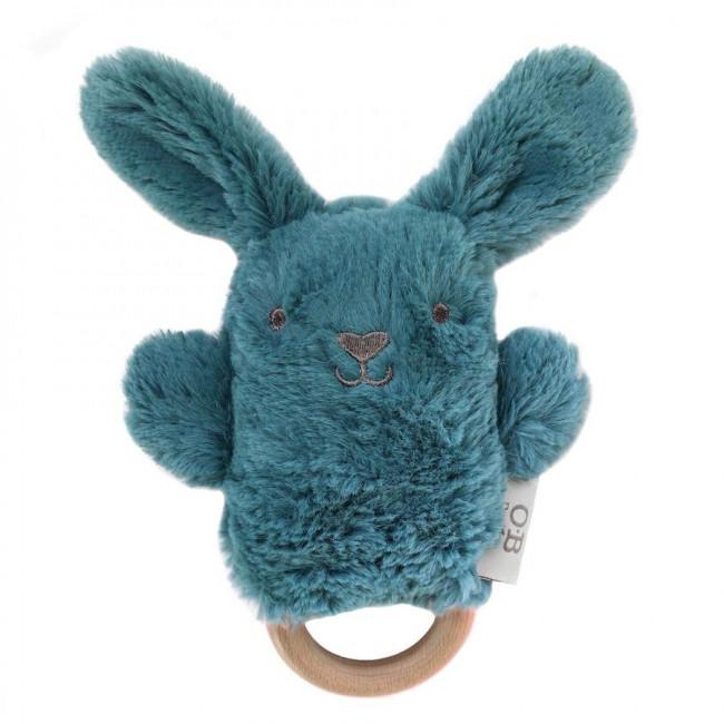 Banjo Bunny Teether/Rattle