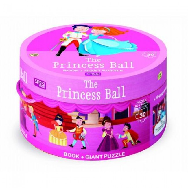 Book & Giant 30 Piece Puzzle The Princess Ball