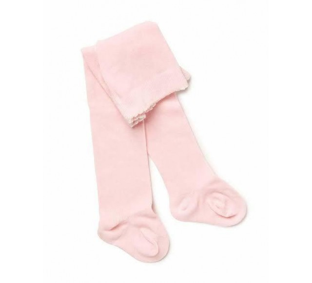 MARQUISE Girls Knitted Tights - Pink