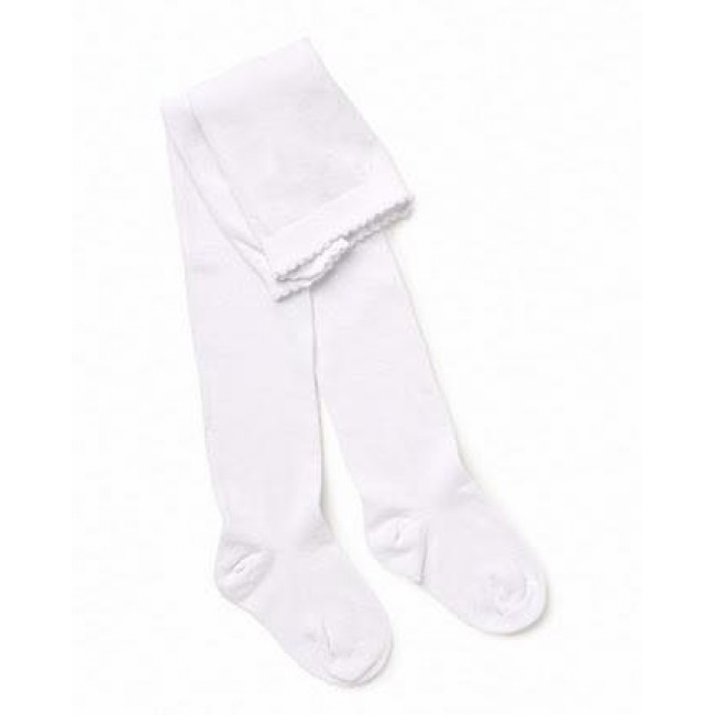 MARQUISE  Girls Knitted Tights - White